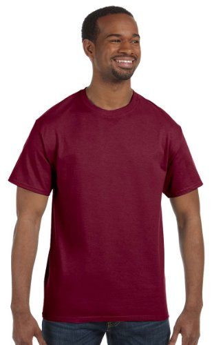 Gildan 5.3 oz. Heavy Cotton T-Shirt, Medium, Cardinal Red Cardinals Cotton