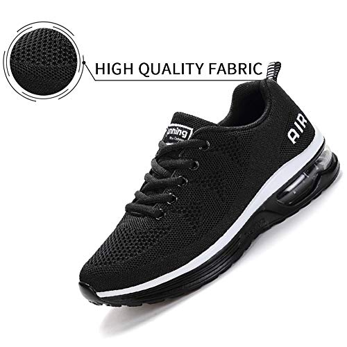 Lamincoa Women's Athletic Running Shoes Air Cushion Mesh Sneakers Lightweight Tennis Sports Breathable Walking Easy… 3