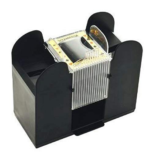 AF Automatic Playing Card Shuffler, Best Card Shuffler 6 Deck, Ideal For Blackjack-Poker Automatic Portable Card Shuffler,Battery Operated & Ebook Home Decor by AF (Image #2)