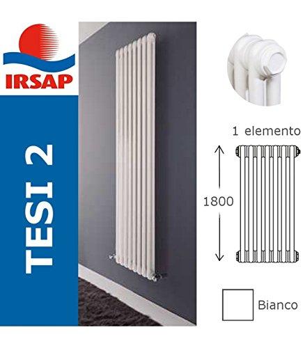IRSAP radiatore Tesi, batteria 1800/2, 1 elemento, bianco: Amazon.it ...