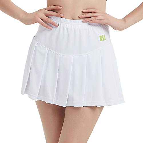 TOPTIE Big Girls Running Skorts Casual Gym Tennis Skirt with -