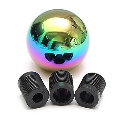 MATCC Colorful Universal Manual Car Gear Stick Shift Knob Shifter Lever Ball Style