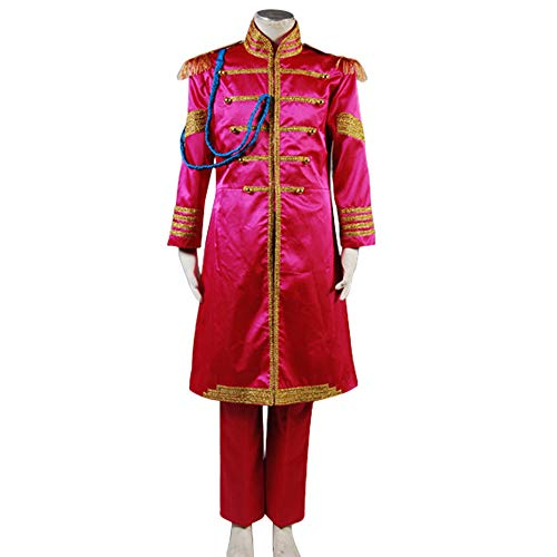 GOTEDDY Halloween Cosplay Ringo Costume Party Dress Up Red Outfit (L) ()