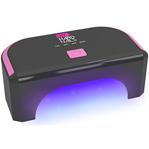 best led nail lamp for gel nails led light for nail manicure at home use with uv soak off gel or shellac nail polish 1 year warranty
