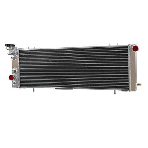 CoolingCare 62MM 4 Row Aluminum Radiator for 1991-01 Jeep Cherokee XJ &Comanche ()