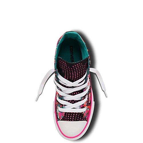 ConverseCt Bb Animal Hi - Zapatillas Unisex, para niños Neon Floral