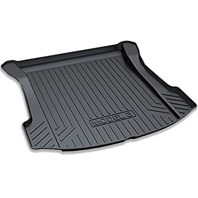 omotor Trunk Mat Cargo Mat Trunk Liner for Tesla Model 3 All Season-Protection Cargo Mat Liner