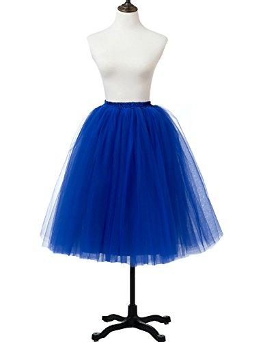 Stillluxury - Falda - para mujer azul real