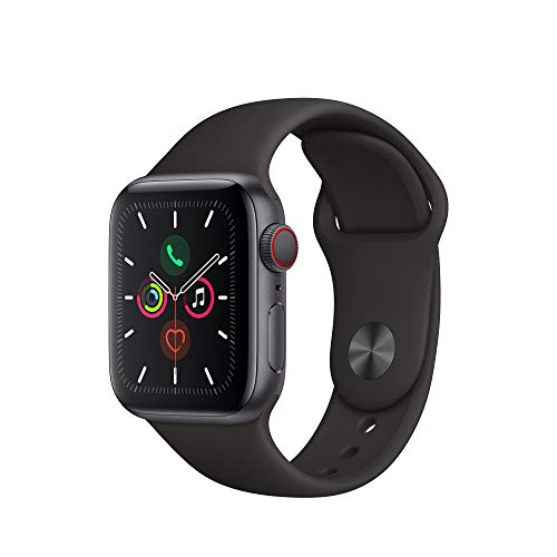 Apple Watch Series 5 (GPS + Cellular, 40mm)...