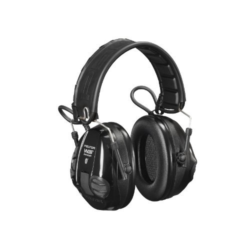 Peltor WS Workstyle Bluetooth Active Listening Ear Muff / Defender - Black by (Active Listening Earmuff)