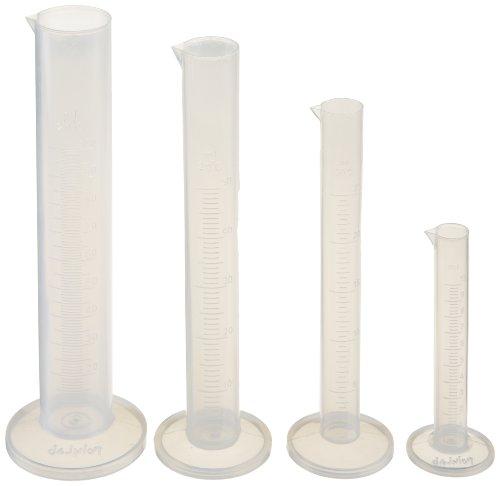 4 Starter Set (Ajax Scientific 4 Piece Polypropylene Graduated Cylinder Starter Set)