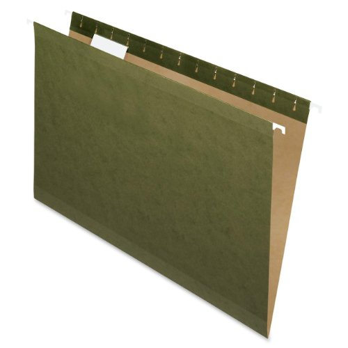 Pendaflex Standard Green, Legal size, Hanging File Folder,25 per box