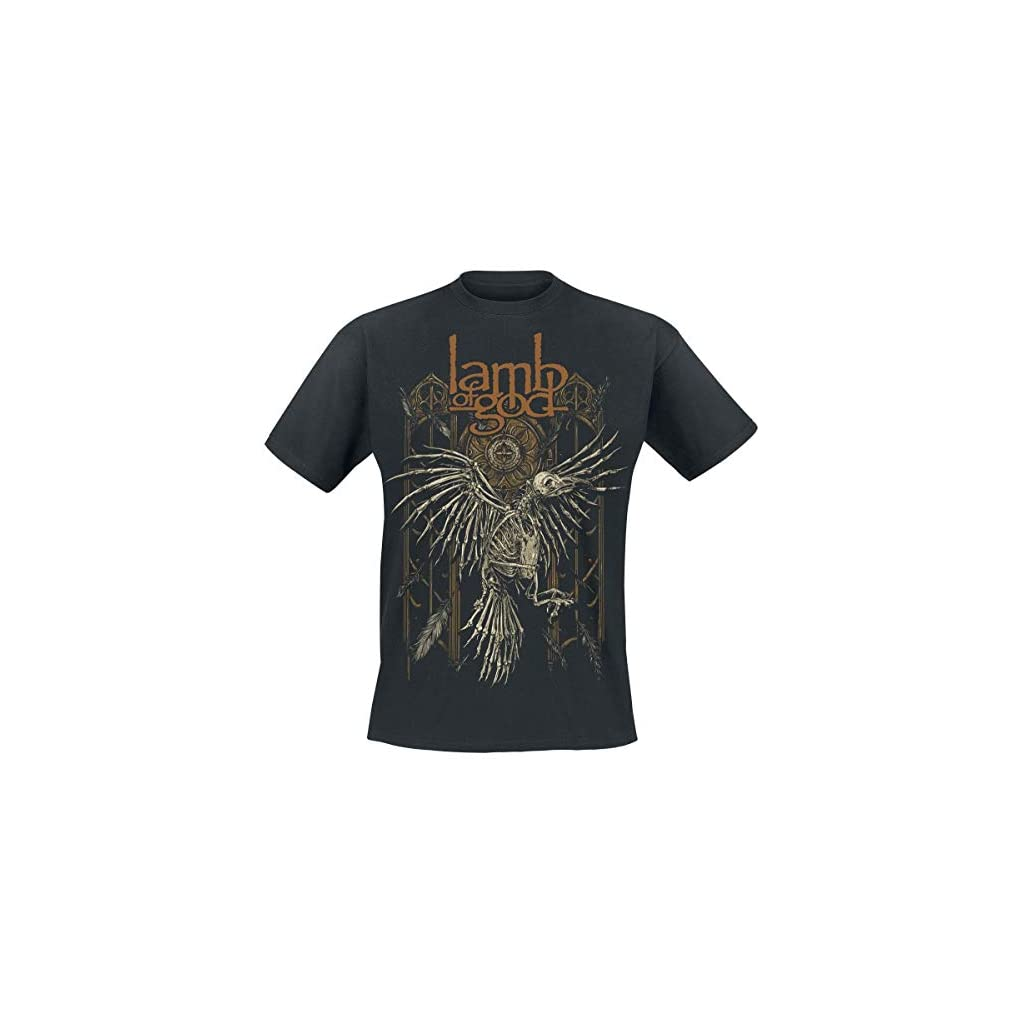 Lamb Of God Crow Camiseta