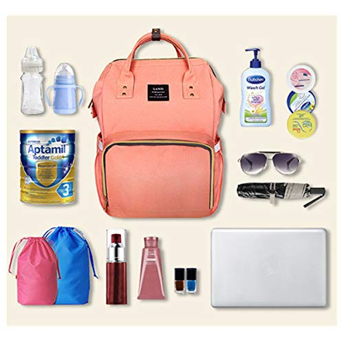 Rojo Ourbag Al Viaje Mochila Libre Mamá Bolso De Cambiante Púrpura Pañales Bolsa Para Mujeres Aire Pañales Impermeable qtTZw