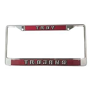 Troy University License Plate Frame