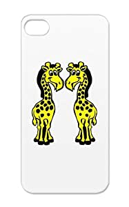 Tearproof Yellow Giraffe For Iphone 5s Bb Jumeaux Twin Kid Child Twins Baby Family Enfant Animal Animaux Baby Girafe Giraffe Case