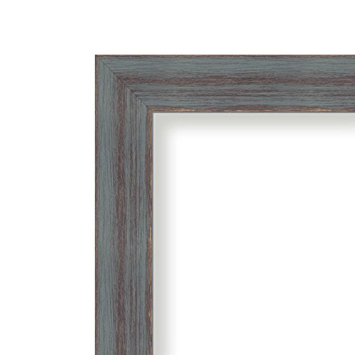Amanti Art Framed Black Cork Board Dixie Grey Rustic: Outer Size 30 x 22'', Large by Amanti Art (Image #2)