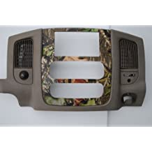 2002-2005 Dodge Ram Double Din Aftermarket Radio Stereo Dash Kit Installatino Bezel Mossy Oak Obsession