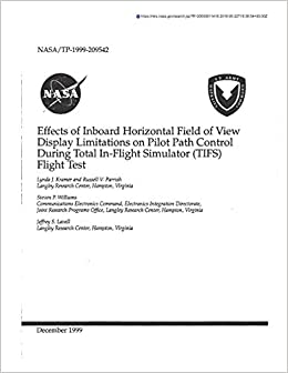 Effects of Inboard Horizontal Field of View Display