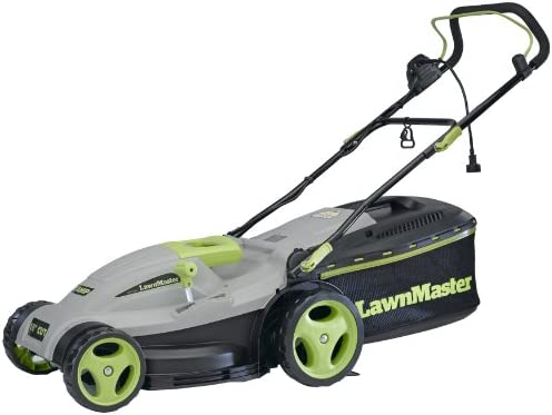 Amazon.com: lawnmaster meb1246 m 18-Inch 3-in-1 eléctrico ...