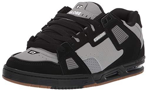 Shoes Fusion Skate - Globe Men's Sabre Skate Shoe, Grey/Black, 13 Medium US