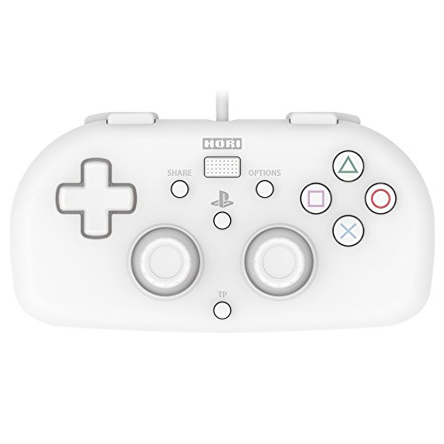 (Hori Sony Licensed Wired Controller Light Small White for PS4)