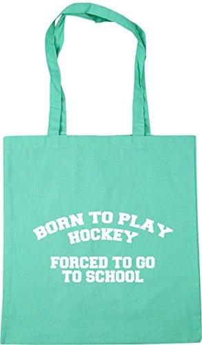 Mint school litres Born 42cm x38cm to play HippoWarehouse Gym go to to Bag 10 forced Tote Beach hockey Shopping U8Bddxw