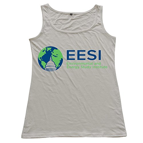 The Environmental And Energy Study Institute  Eesi   Logo Woman 100  Cotton Tanks Gray