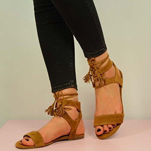 Cucu Fashion - Zapatos de tacón  mujer Marrón - camel