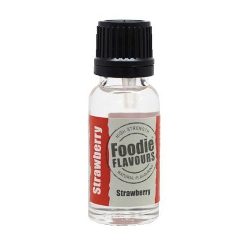 Strawberry Bottle 15 - Foodie Flavours Natural Flavouring - 15ml Bottle - Strawberry by Culpitt