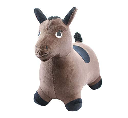 Chromo Inc Bouncy Inflatable Real Feel Hopping Horse