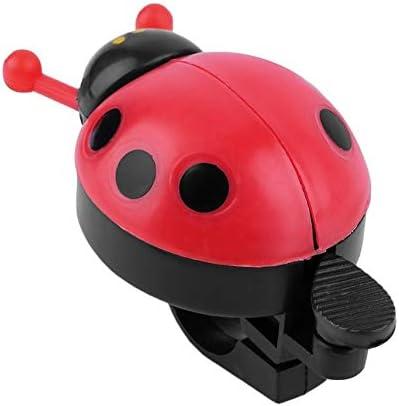 Bicycle Ladybug Bell Blue Pink Bell Ring Lovely Ladybug Durable Useful