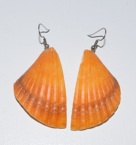 Genuine Spiny Oyster Shell Earrings
