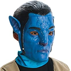 Avatar Child's 3/4 Vinyl Mask, Jake Sully