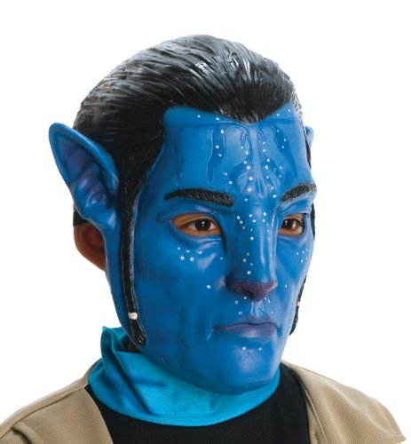Avatar Child's 3/4 Vinyl Mask, Jake Sully (Avatar Masks)