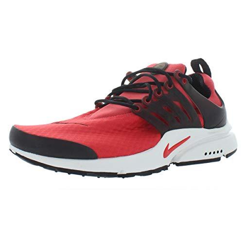 Nike Mens Knit Vest - Nike Mens Air Presto Essential Lightweight Running Shoes Red 8 Medium (D)