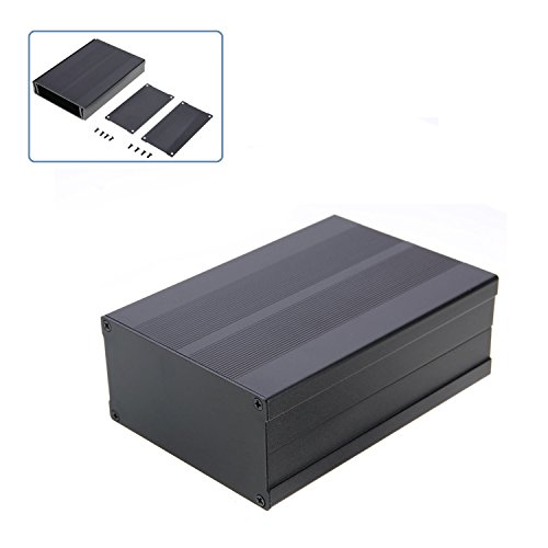 Enclosure Case Aluminum Box,DIY Enclosure Case Aluminum Box Circuit Board Project Electronic 150X105X55MM by Farmunion