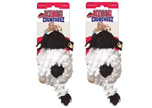 - KONG Barnyard Cruncheez Cow Toy, Large (2)