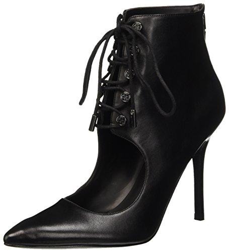 Guess Pivia FLPIV4LEA09, Zapatos de Tácon Mujer Negro (Nero)