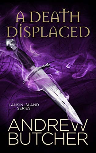 A Death Displaced (Lansin Island Paranormal Mysteries Book 1)]()