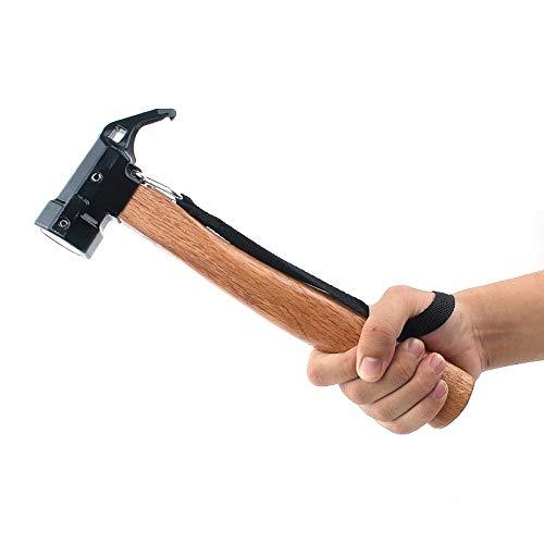 DAYIJIE Multi-function Nail Puller Shark Hammer,Outdoor Hexagonal Brass hammer by DAYIJIE