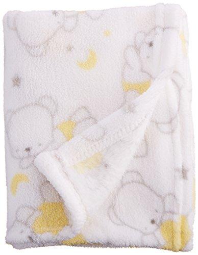 Nuby Cuddly Plush Blanket Neutral
