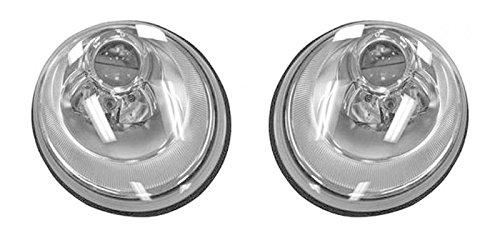 (Headlights Headlamps Left & Right Pair Set for 06-10 VW Volkswagen Beetle)
