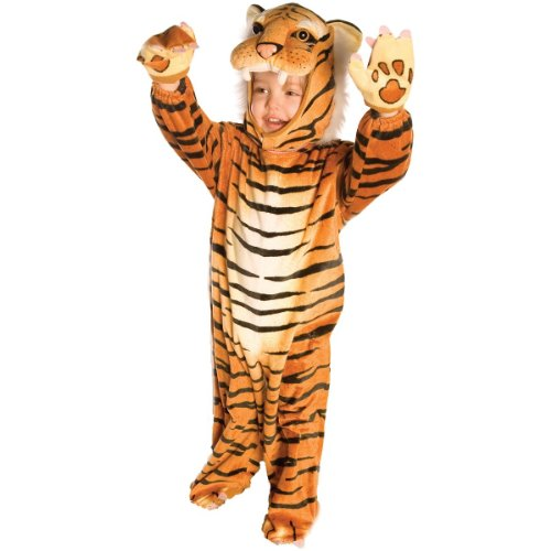 Tiger Costume - Small (Tiger Costume For Kids 4 6)
