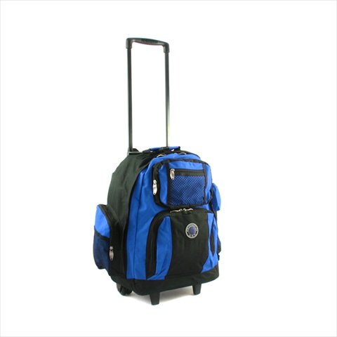- Transworld Roll-Away Deluxe Rolling Backpack - Royal Blue