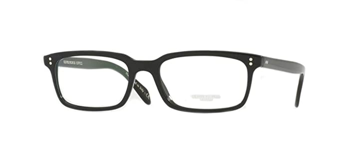 d3604330ae Amazon.com  Oliver Peoples - Denison - 5102 51 - Eyeglasses (BLACK ...