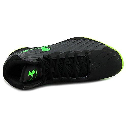 Noir homme Chaussures Armour basketball de Vert Under Jet 3 xf4vw6