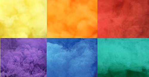 Photo-Smoke-Effect-Rainbow-Set-of-6-Colors-RedOrangeYellowBluePurpleGreen