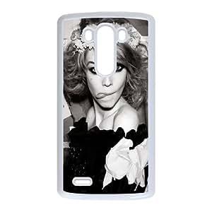 Celebrities Siri Tollerod Black And White LG G3 Cell Phone Case White NiceGift pjz0035044749
