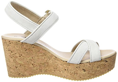 Shoot Wedges Sandale Shoes Mujer Plateau 160035 Damen Shoot Sandalias Sommer Blanco Sh qrx8qwF0